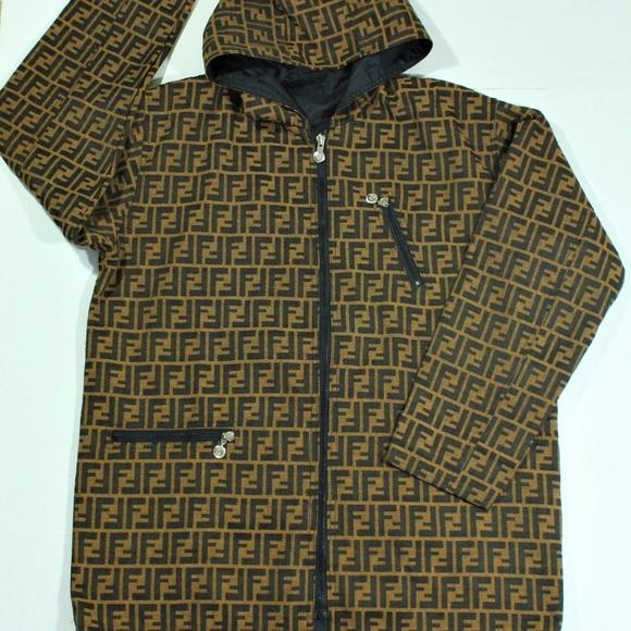b271cfd9f08c Fendi Other - VTG Fendi Zucca Monogram Reversible Jacket Mens